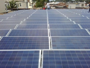 150KW Laundry Service: Solar installation in Patterson, New Jersey